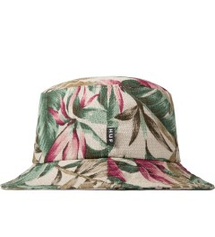 HUF Tan Waikiki Bucket Hat Model Picutre