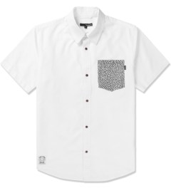 The Quiet Life White The Path Button Up Shirt Picutre