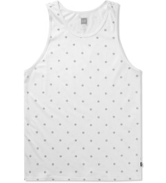 HUF White Circle H Tank Top Picutre