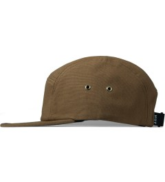 HUF Caramel Metal Triple Triangle Volley Cap Model Picutre