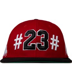 BEENTRILL Red Mike Will 23 Snapback Cap Picutre