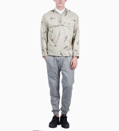 Mark McNairy for Heather Grey Wall Beige AK47 Pullover Jacket Model Picutre