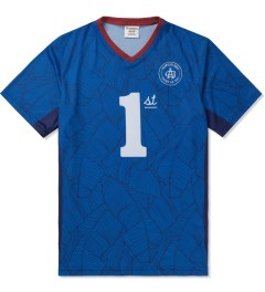 Acapulco Gold Blue First Team Soccer Jersey Picutre