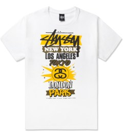 Stussy White International World Tour T-Shirt Picutre