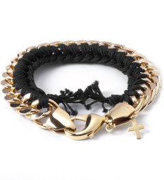 THE RHOD Black Classic Woven Bracelet Picutre