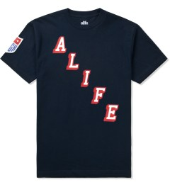 ALIFE Peacoat Black Hometeam T-Shirt Picutre