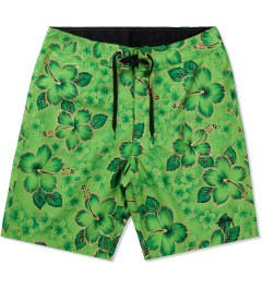 Stussy Green Gold Flake 8.5 Trunk Picutre