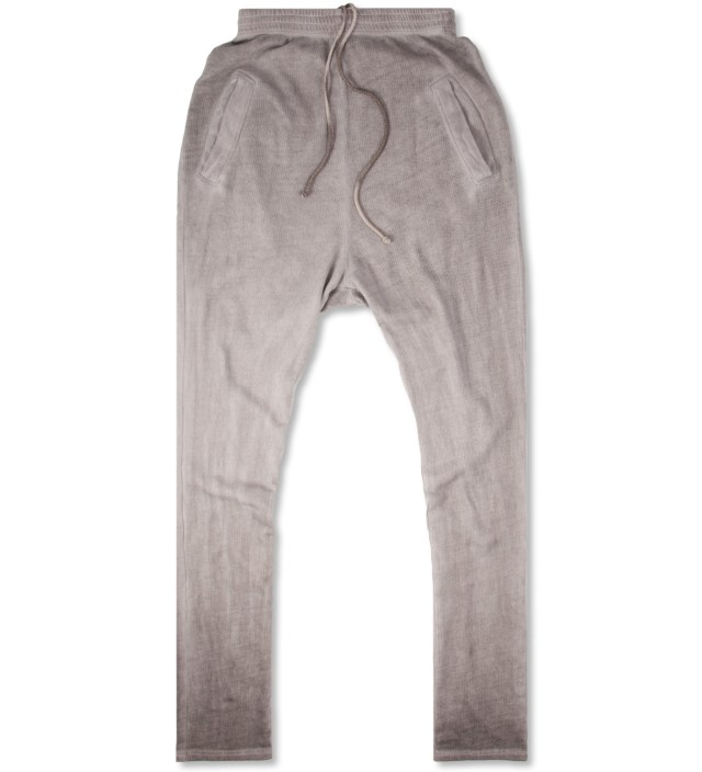 Grey Washed Silent Pujo Heavy Jersey Pants