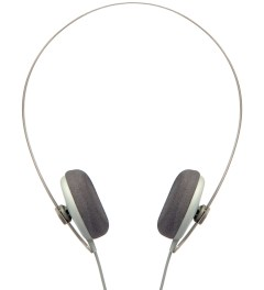 AIAIAI Grey Tracks Headphones Picutre
