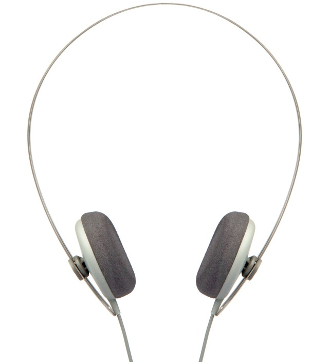 Grey Tracks Headphones