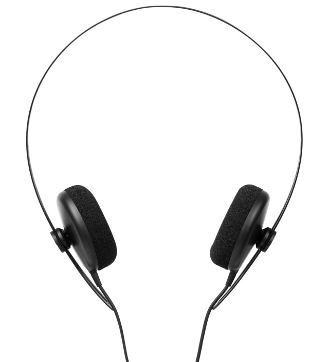 Black Tracks Headphones