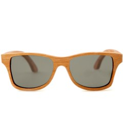 Shwood Canby Oak Polarized Grey Sunglasses Picutre