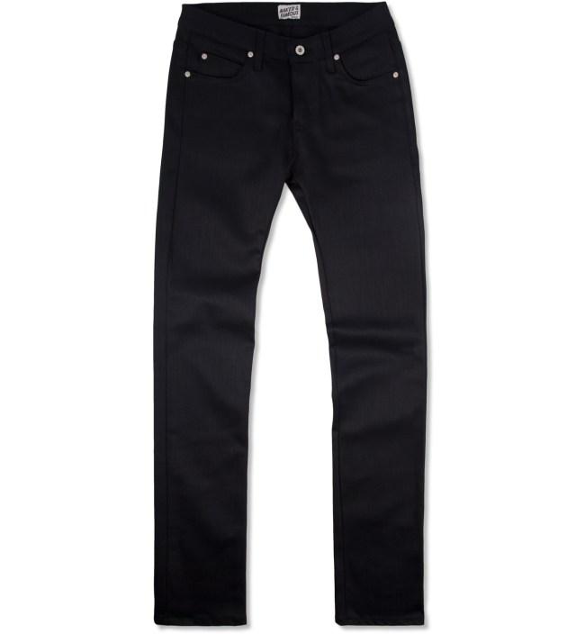 Skinny Guy Black Power Stretch Denim Jeans