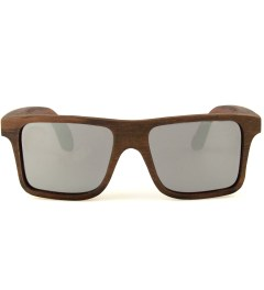 Shwood Govy East Indian Rosewood Mirrored Grey Sunglasses Picutre