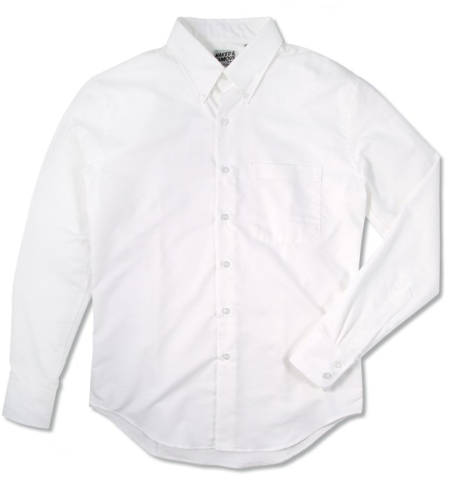 White Oxford Slim Shirt