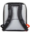 "Coated Techno Canvas 15"" Laptop Flat Backpack"