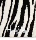 White/Black Zebra Socks
