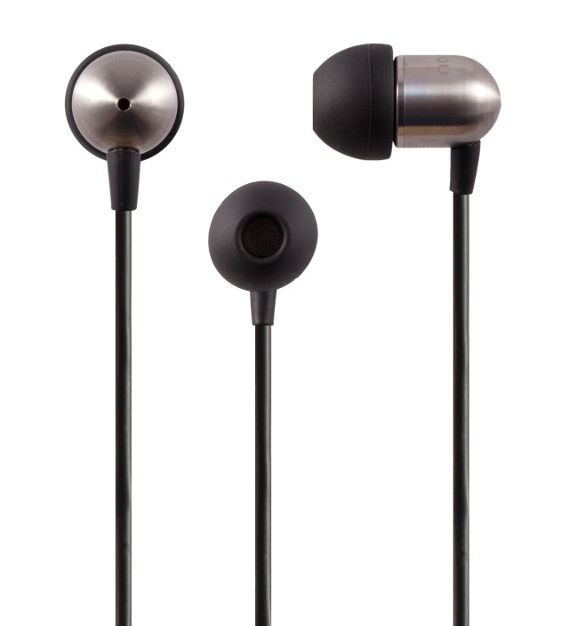Black NS400 Titanium iOS Earphones