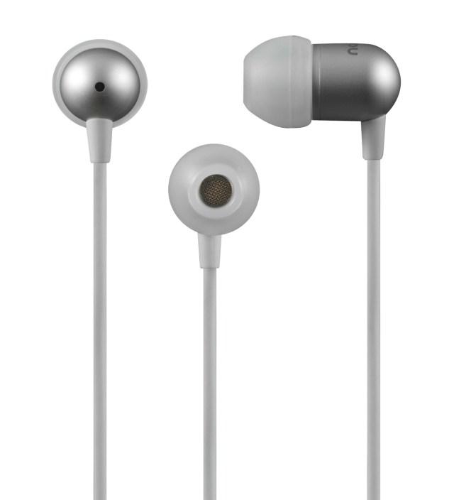 White NS200 Aluminum Universal Earphones