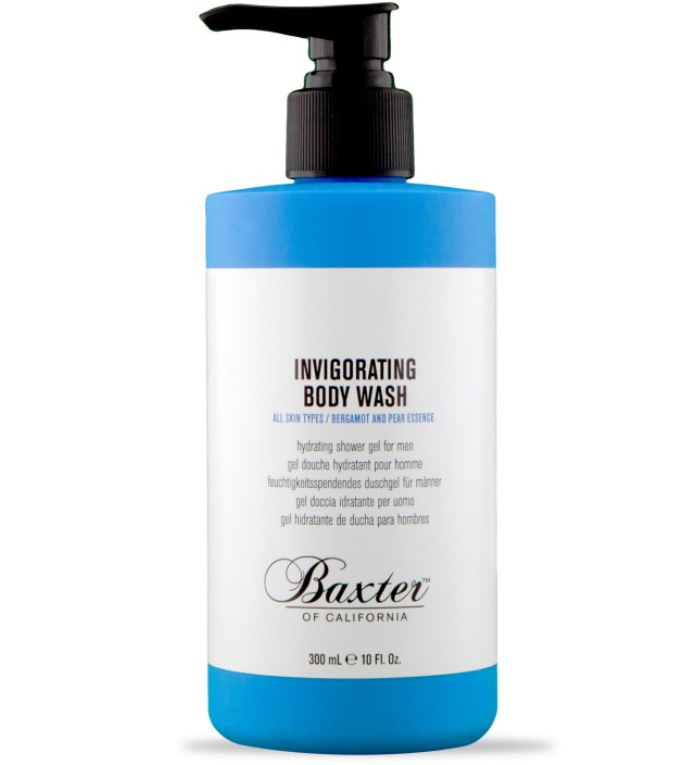 Bergamot and Pear Invigorating Body Wash