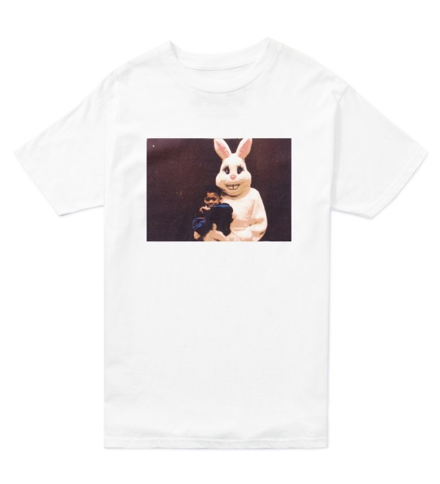 White Hodgy Rabbit T-Shirt