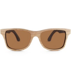 Shwood Canby Select Quilted Maple and Rosewood Polarized Brown Sunglasses Picutre