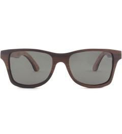 Shwood Canby Select Rosewood and Quilted Maple Polarized Grey Sunglasses Picutre