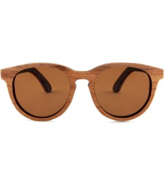 Shwood Oswald Select Quilted Maple and Rosewood Polarized Brown Sunglasses Picutre