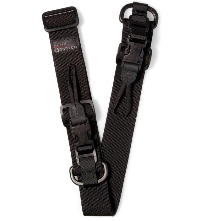 Black Heavy Camera Sling Strap