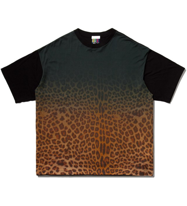 Yellow Leopard Big T-Shirt