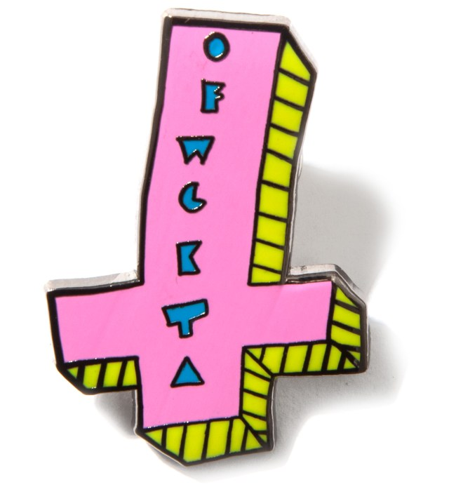 OFWGKTA It's Us Cross Enamel Pin