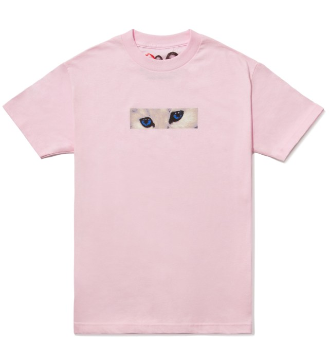 Peach White Eyes T-Shirt