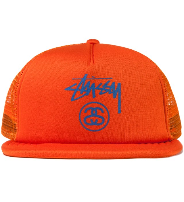 Orange Stock SS Trucker Ballcap