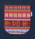 Navy Blue South African Tribe Pocket T-Shirt