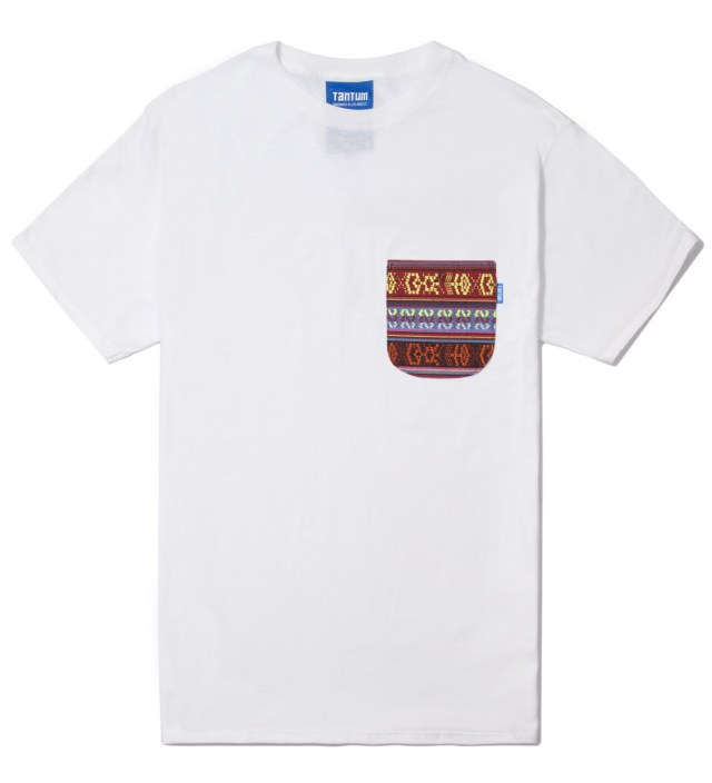 White South African Tribe Pocket T-Shirt