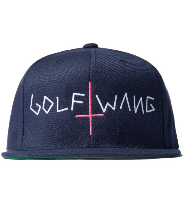 Navy Golf Wang Snapback Cap