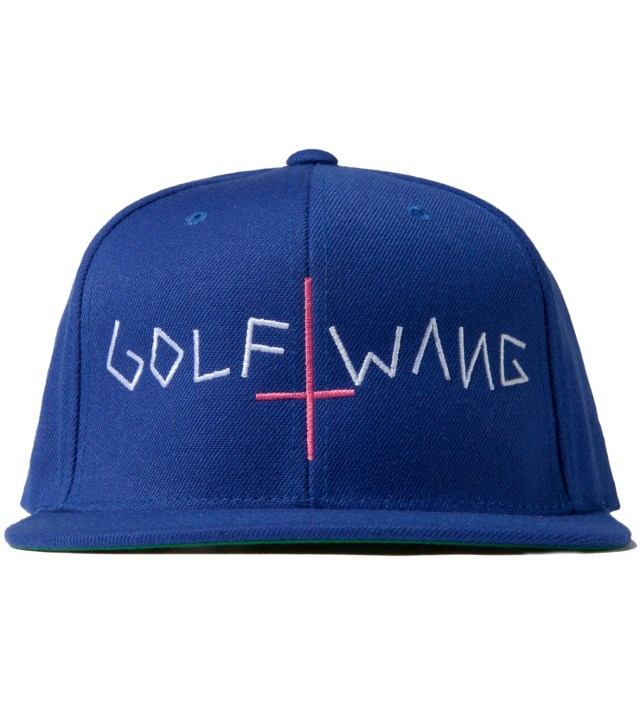 Royal Blue Golf Wang Snapback Cap