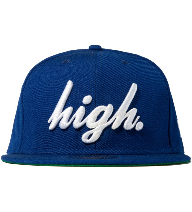 High Hat Blue New Era Cap