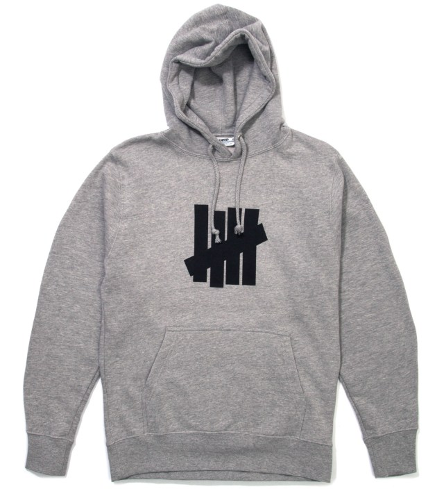 Heather Grey 5 Strike Hoodie