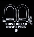 Black SS First Round Pick T-Shirt