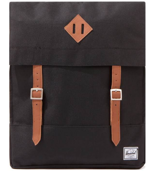 Black Survey Backpack