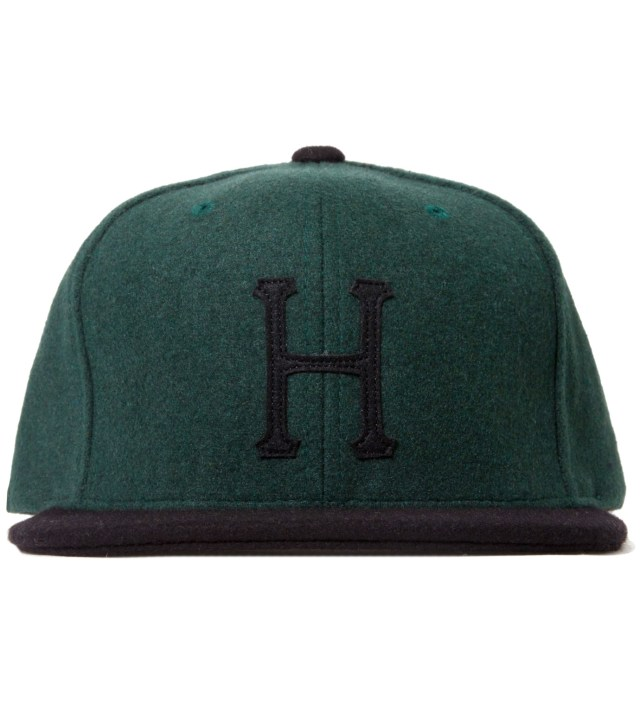Hunter/Green Classic H Wool Starter Cap