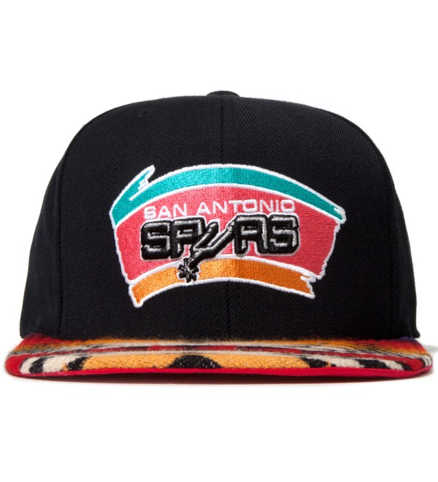 San Antonio Spurs Red Navajo Strap-Back Cap