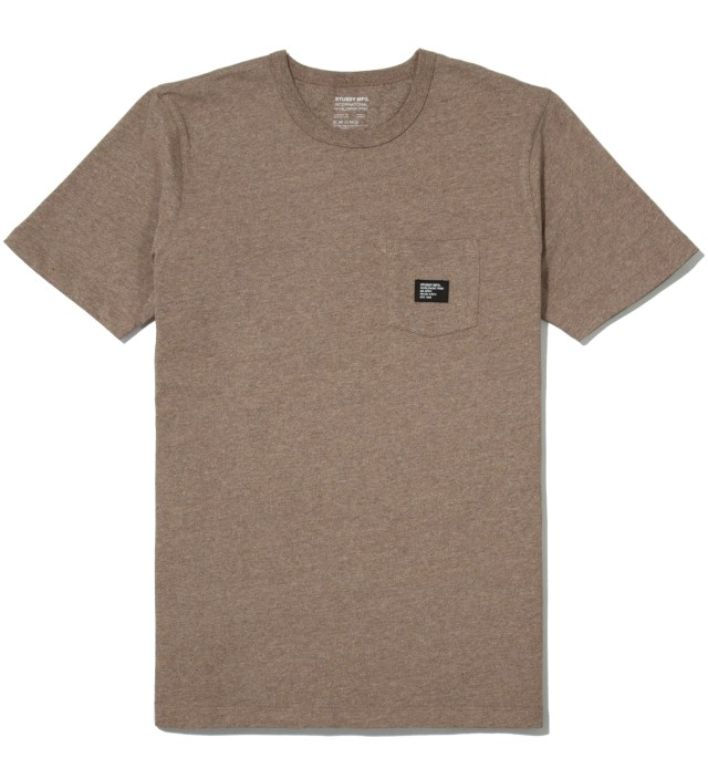 Brown Heather Basic Issue Crew T-Shirt
