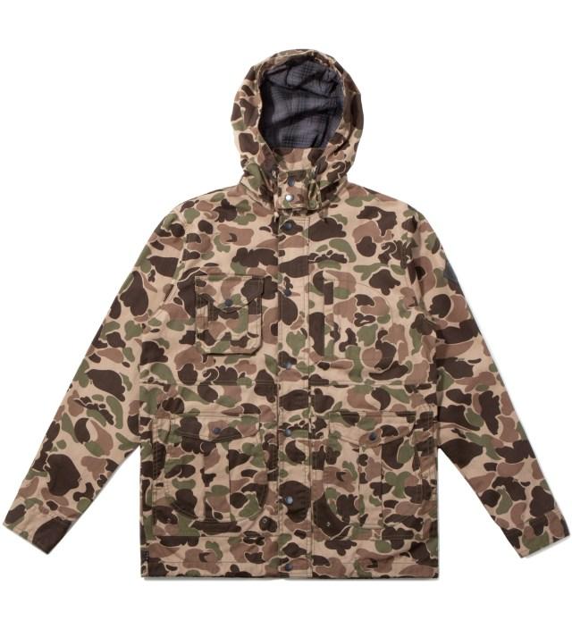 Duck Camo Waxed Highland Jacket