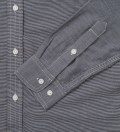 Navy Fine Stripe Engineer Shirt