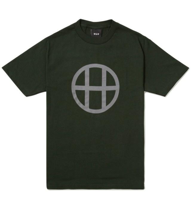 Hunter Green Circle H T-Shirt