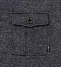 Navy Vintage Pocket Crewneck