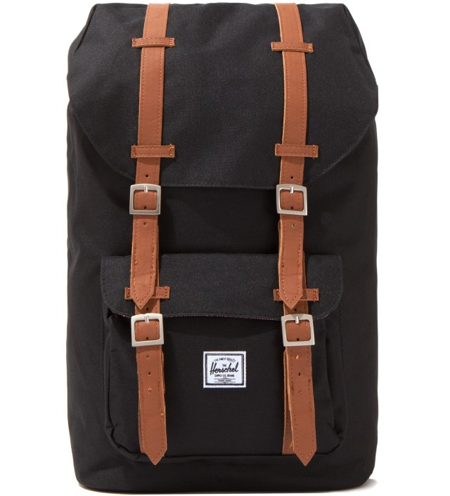 Black Little America Backpack