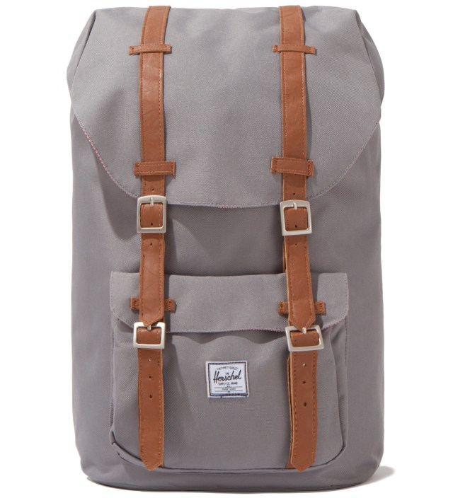 Grey Little America Backpack